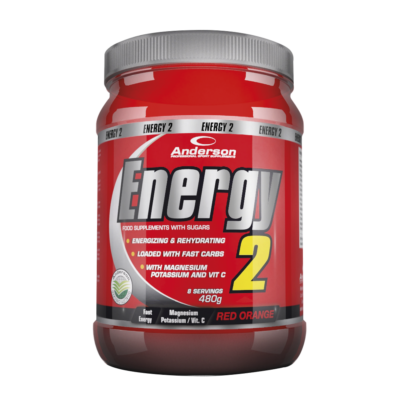 Energy 2 Arancia Rossa 480 g