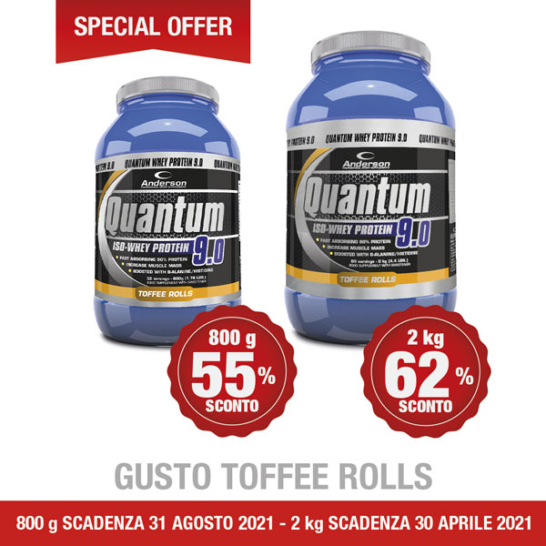 Quantum 9 in super sconto OUTLET