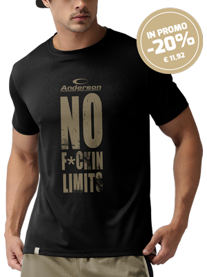 T-Shirt Anderson Research - NO F*UCKIN LIMITS