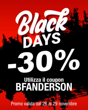 Black Friday -30%